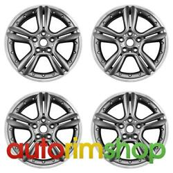 Mini Cooper Countryman 18 Factory Oem Wheels Rims Set Machined With Charcoal
