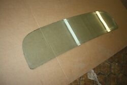 1973 1975 1977 Corvette Original Coupe Rear Window Glass W/o Defroster Dated Yl