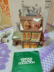 Dept. 56 ® Christmas Heritage Village Collection Dickens Hather Harness Buildin