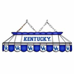 Kentucky Wildcats Mvp 40 Stained Glass Pool Table Lamp