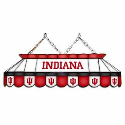 Indiana Hoosiers Mvp 40 Stained Glass Pool Table Lamp