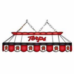 Maryland Terrapins Mvp 40 Stained Glass Pool Table Lamp