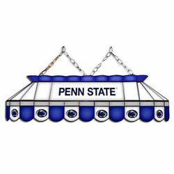 Penn State Nittany Lions Mvp 40 Stained Glass Pool Table Lamp