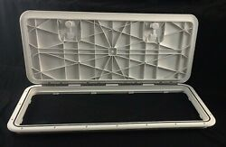 New Innovative Product Solutions 520-505 13 X 30 Polar White Boat Deck Hatch