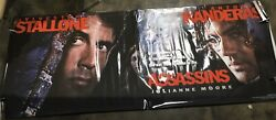 Sylvester Stallone Assassins Movie Theatre Banner Huge Rare, Collectible