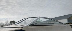 Complete Windshield From A 1985 Bayliner Capri 1950 Cuddy Parting Out Boat