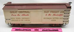 Bachmann 1009 Great Central Fast Freight Line Box Car G Scale
