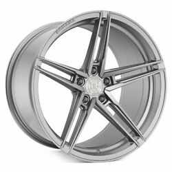 20 Rohana Rfx15 Silver 20x10 20x11 Concave Wheels Rims Fits Ford Mustang Gt