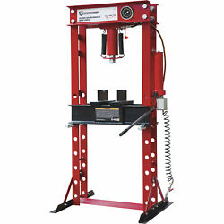 Strongway 40-Ton Pneumatic Shop Press with Gauge