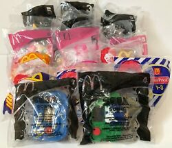 Vintage Early 2000s Mcdonalds Happy Meal Toys Mixed Lot Of 17 Sealed