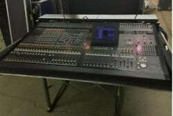 Yamaha PM 5D digital 48 mono 4 stereo mixer with road case, 24 mix buses W/ 2 PS
