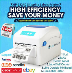 【free 500 Label】qr Code Barcode Tag Thermal Label Printer High Speed Address