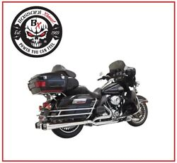 Scarico Bassani Cromo Dual Down Under System 09 - 16 Harley Touring