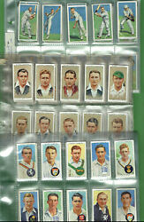 Gg1.  Three3 Sets Of Cricket Cigarette Cards - Cricketers 1930, 1934 And 1938
