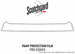 3m Pro Shield Paint Protection Kit For Jaguar Xf 2009-2011 - Trunk Sill Ppf