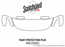 3m Pro Shield Paint Protection Kit For Infiniti Q60 2014-2016 - Hood Clear