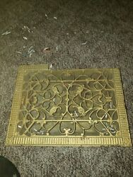 16 X 12 Grate Large Antique As Is