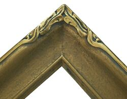 Newcomb Macklin Style Arts And Crafts Giltwood Picture Frame - U.s. - Circa 1940and039s
