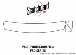 3m Pro Shield Paint Protection Kit For Nissan 200sx 1995-1998 - Hood Clear