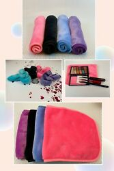4 Pack Makeup Remover Facial Cloth Towels Soft Reusable And Chemical Free