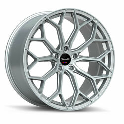 20 Gianelle Monte Carlo Silver 20x8.5 Concave Wheels Rims Fits Toyota Camry