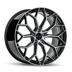 20 Gianelle Monte Carlo Machined 20x8.5 20x10 Wheels Rims Fits Ford Mustang Gt