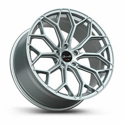 20 Gianelle Monte Carlo Silver 20x8.5 20x10 Wheels Rims Fits Ford Mustang Gt