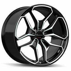 20 Giovanna Huraneo 20x8.5 20x10 Concave Wheels Rims Fits Ford Mustang Gt