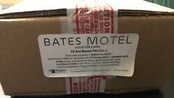 2015 Breygent Season 1 Bates Motel 10 Box Case W/ Auto Costumes Props 1 Sketch