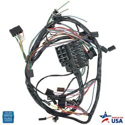 1965 Nova Chevy Ii Dash Harness Ss With Factory Gauges With Backup Lights Ea
