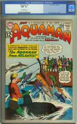 Aquaman 3 Cgc 9.2 Ow Pages