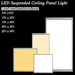 Dimmable Led Recessed Ceiling Panel Down Light 12w 18w 36w 42w Kitchen Home Lamp