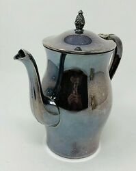 Wm. Rogers Paul Revere Reproductions Silver Plate Coffee Or Tea Pot