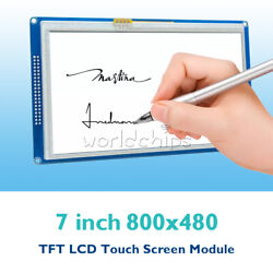 1/2/5pcs 7 Inch 800x480 7 Tft Lcd Touch Module Ssd1963 Pwm For Arduino Avr Arm