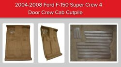 Custom Cutpile Carpet Molded Replacement Kit For F-150 2004-2008 Pick Color Acc