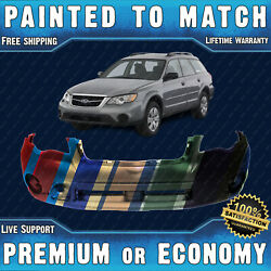 New Painted To Match Front Bumper Replacement For 2008 2009 Subaru Outback Wagon