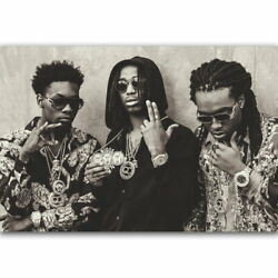 58385 Migos American Hip Hop Rappers Music Star Decor Wall Print Poster
