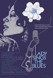 66798 Lady Sings The Blues Diana Ross Billy Dee Wall Print Poster Ca