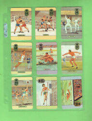 T83. 1956 Part Set24 Coles Stores Olympic Sports Melb. Olympic Games Cards