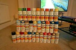 Rustoleum Vintage Spray Paint Collection 31 Cans Graffiti Seen Cope2 Style W