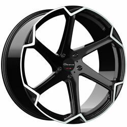 20 Giovanna Dalar-x Machined 20x10 Concave Wheels Rims Fits Ford Mustang
