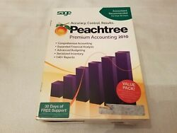 New Sage Peachtree Premium Accounting 2010 Multi 5 Users Retail Not Pro Complete