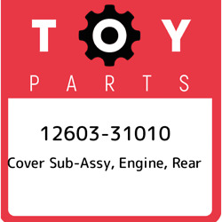 12603-31010 Toyota Cover Sub-assy Engine Rear 1260331010 New Genuine Oem Part