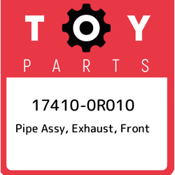 17410-0r010 Toyota Pipe Assy Exhaust Front 174100r010 New Genuine Oem Part