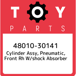 48010-30141 Toyota Cylinder Assy Pneumatic Front Rh W/shock Absorber 480103014