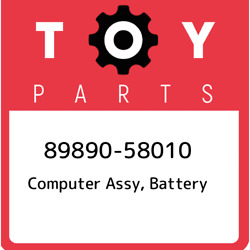 89890-58010 Toyota Computer Assy Battery 8989058010 New Genuine Oem Part