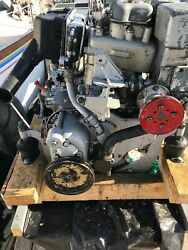 BMW D35 marine diesel engine system, includes fuel tank, fuel and raw water sys.