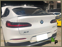 Carbon Fiber P Style Trunk Spoiler Wing For 2019-20 Bmw G02 X4 Suv Xd20 Xd30