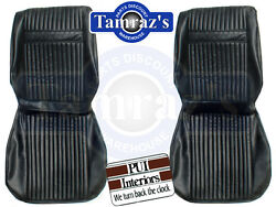 1964 Cutlass Holiday Front And Rear Seat Covers Upholstery - Pui New