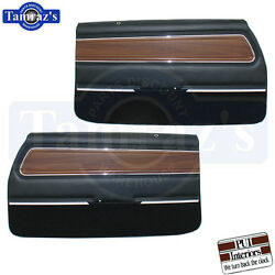 71-72 Cutlass Supreme Front Door And Rear Quarter Trim Panels - Pui Please Read